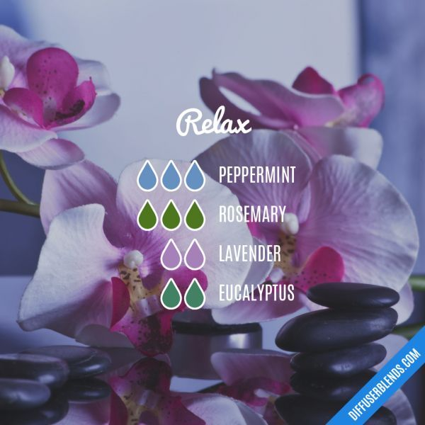 Relax - Essential Oil Diffuser Blend