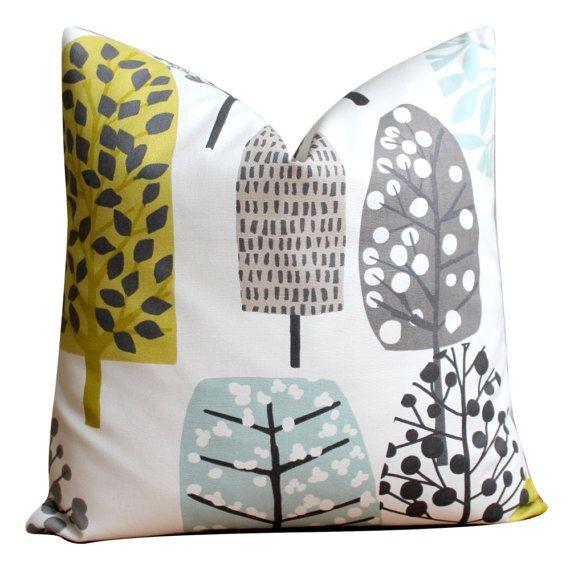 18x18 pillow cover Scandinavian pillow case cushion by CoupleHome