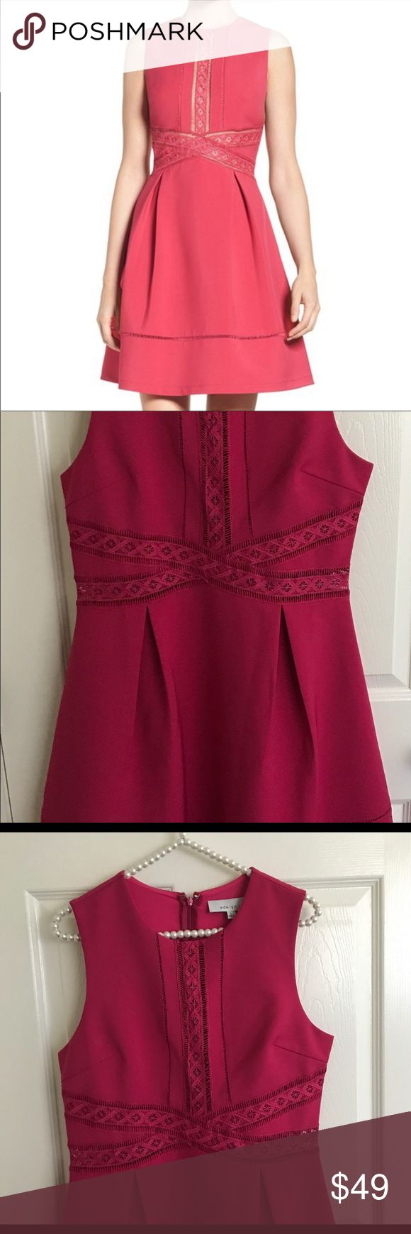 "Fuchsias Adelyn Rae Dress NWOT! No trade No lowball. Armpit to Armpit 9.5""in waist 1/6""in length 3/6in Adelyn Rae Dresses"