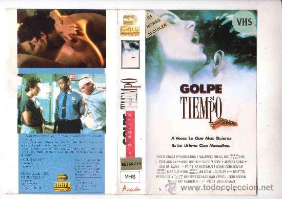 """Golpe al tiempo"" (""Punch the Clock"", Estados unidos, 1989, Eric L. Schlagman, Curb/Esquire Films, Dister Video, VidAmerica, Box Office Films Ltd.) ••• #elokuvat #BMW325i #BMW525i #sedans #saloons #preBrexit #PAL #VHS #poliisi #Frankenhooker #VWScirocco #IMCDB #EvaGreen #MarionCotillard #Finnkino #Egmont #Swedes #Indie #Indiewire"