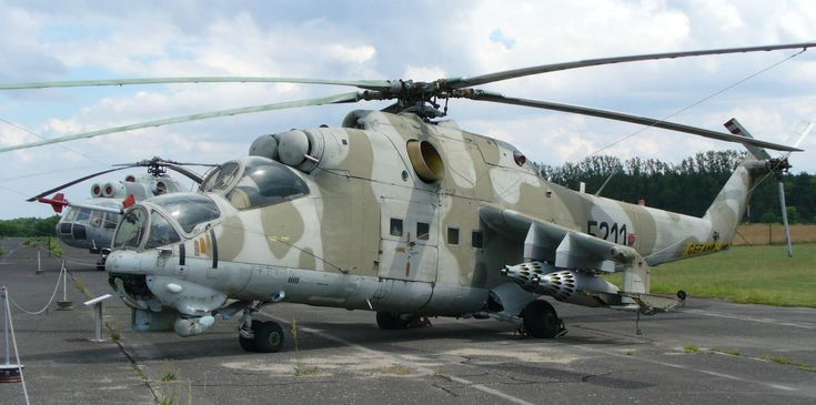 Mi-24D Hind Attack Helicopter