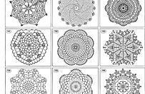 Centrini a uncinetto: schemi e modelli (Foto)