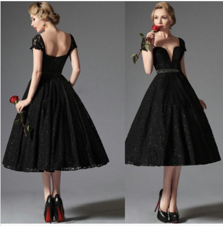 Vestido Negro Ampon Vestidos Cortos Short Dresses