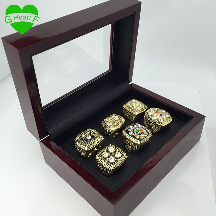 ==> [Free Shipping] Buy Best Free Shipping 1974 1975 1978 1979 2005 2008 Pittsburgh Steeler rings super bowl replica championship ring for father's day gift Online with LOWEST Price | 32737208834