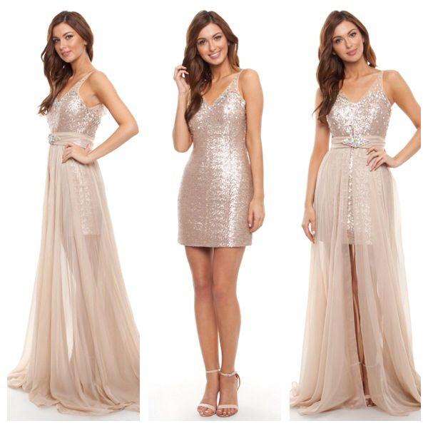 "Our gorgeous ""illuminati"" gown - 2 in 1. #balldress #ballgown #perth #perthballs #formal #perthfashion #instafashion #onlineshopping #ball #prom #gown #stunning #perthstyle"