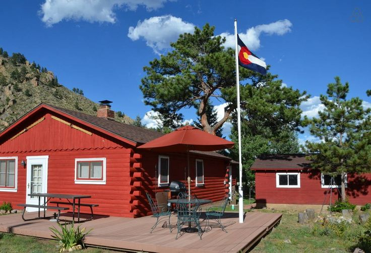 LARIMER COUNTY CO | POUDRE CANYON | This relaxed, ideally located cabin provides two bedrooms, two decks, grill, full kitchen and living room. Base here for hiking, fishing, kayaking and otherwise enjoying the forests, wilderness areas and mountain wildlife.  Very few cabins this si...