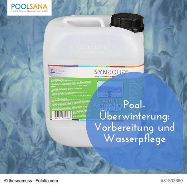 Pool-Überwinterung: Vorbereitung und Wasserpflege #pool #wasser #pflege #winter #überwinterung