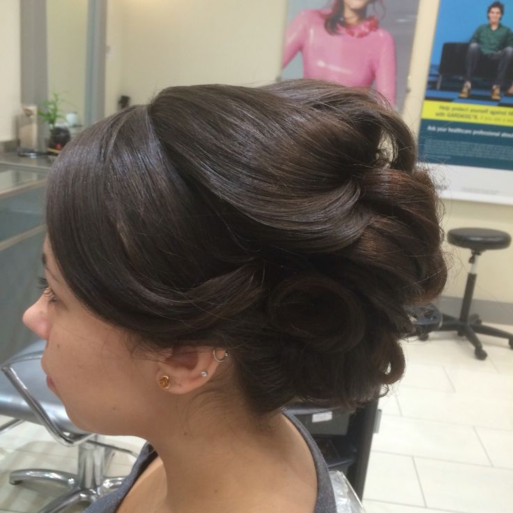 Wedding formal updo
