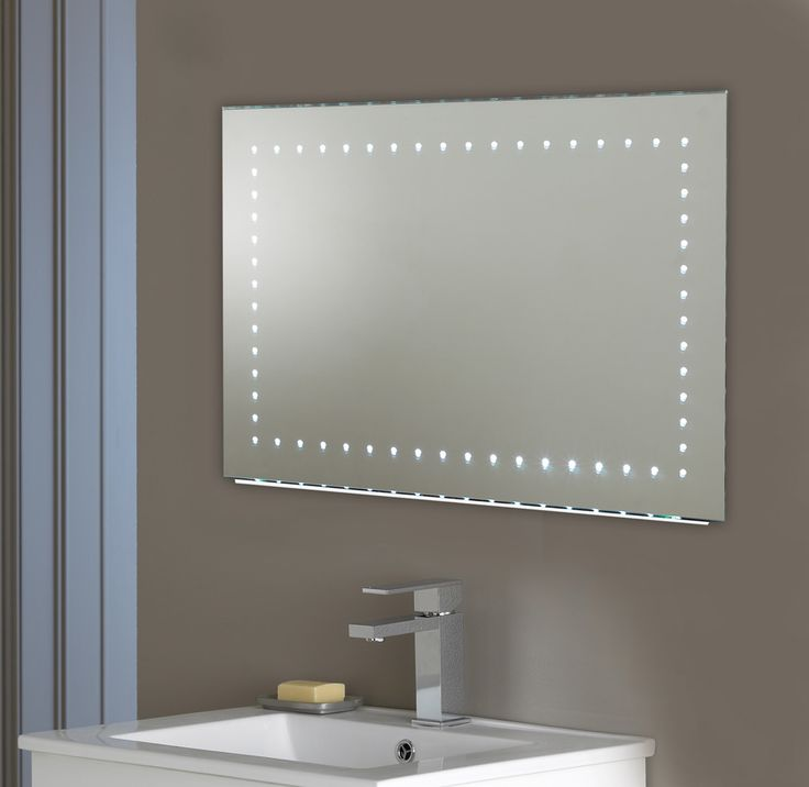 Endon Lighting Kalamos LED Illuminated Bathroom Wall Mirror With Demister  Pad   Sensor Switch   Endon Lighting from Castlegate Lights UK. 17 Best ideas about Mirrors With Shaver Sockets on Pinterest