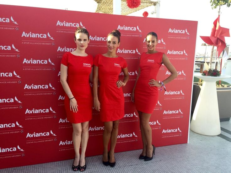 Ayer nuestras Azafatas se convirtieron en las Azafatas de Vuelo de AVIANCA   Madrid - http://agenciafama.es/ayer-nuestras-azafatas-se-convirtieron-en-las-azafatas-de-vuelo-de-avianca-madrid/