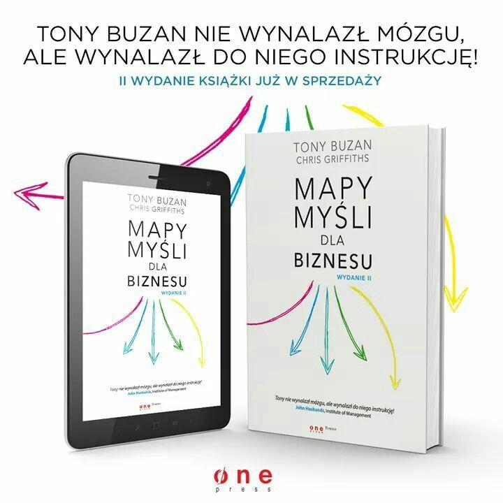 """TONY BUZAN """"MAPY MYŚLI DLA BIZNESU"""""""