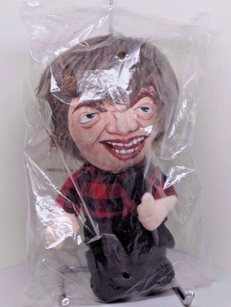 """SINFUL DWARF """"Olaf"""" plush talking doll!! new in package! OOP HTF Sleaze"""