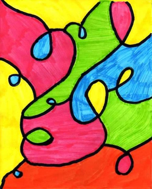 Colorier des espaces délimités _ couverture cahier
