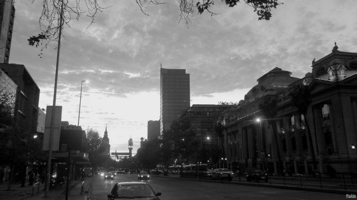 Somewhere in Santiago de Chile.