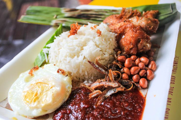 Singapore breakfast places - nasi lemak