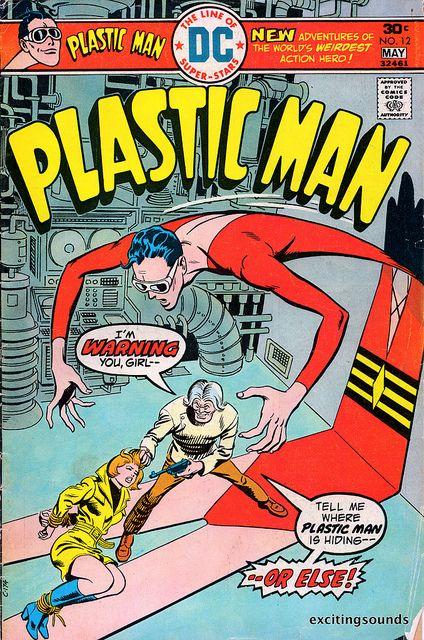 Original Plastic Man Comic