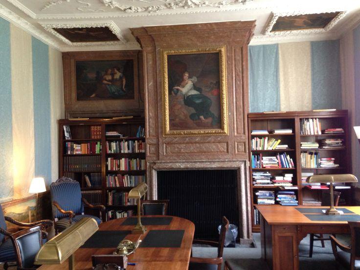 Bibliotheek kasteel Slangenburg.