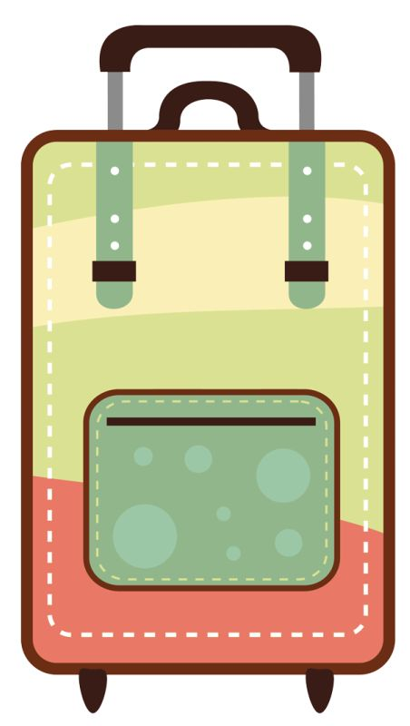 25 best clip art travel images on pinterest clip art rh pinterest com clipart luggage label luggage clipart free