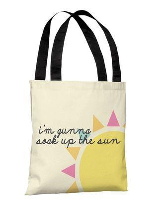 Soak Up The Sun Tote Bag by One Bella Casa at Gilt