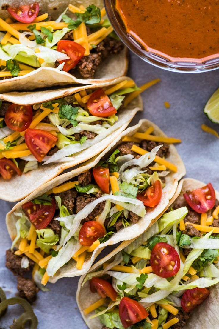 Ground Beef Taco Recipe With Homemade Taco Seasoning Recipe With Images Taco Recipes Ground Beef Tacos Beef Tacos Recipes