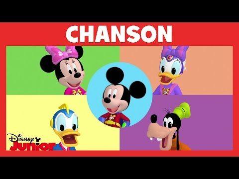 La Maison de Mickey - Chanson : Les super-héros - YouTube  Maison