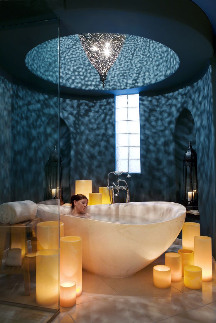 Feminine bathrooms that promise a refreshing dip decor advisor - Joya Spa At Montelucia Resort Spa