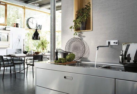 grifo-cocina-axor-uno-hansgrohe. Lo puedes comprar en la tienda online terraceramica.es #grifos #grifería #diseño  #arquitectura #terraceramica  #cocinas