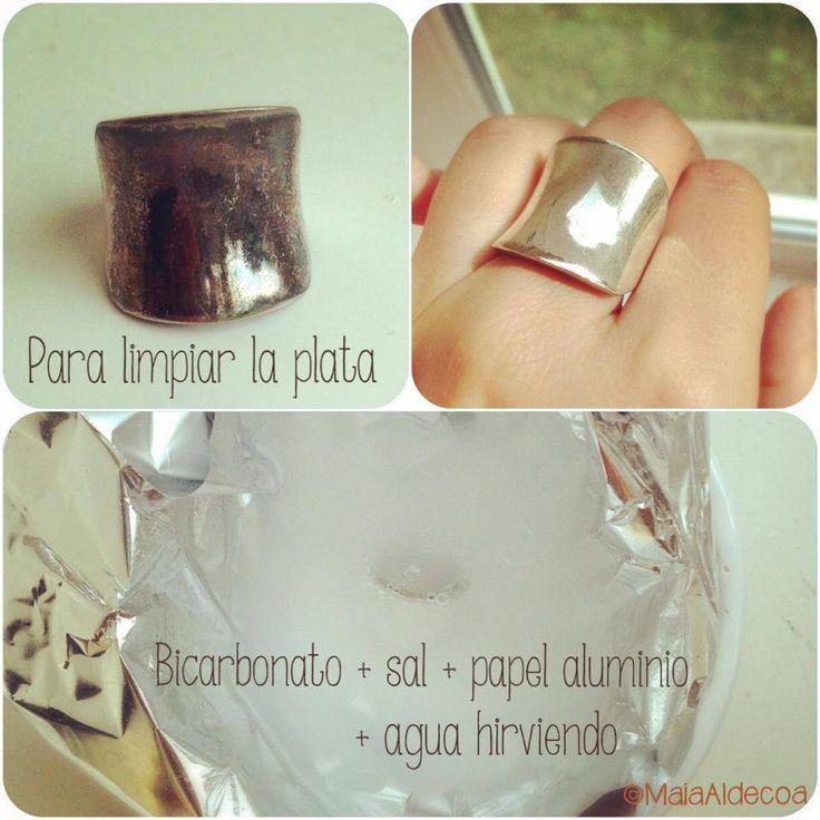 cantidad usada para limpiar anillos