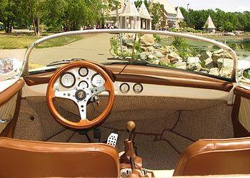 1956 porsche speedster replica interior classic automobiles pinterest porsche 356 dream. Black Bedroom Furniture Sets. Home Design Ideas