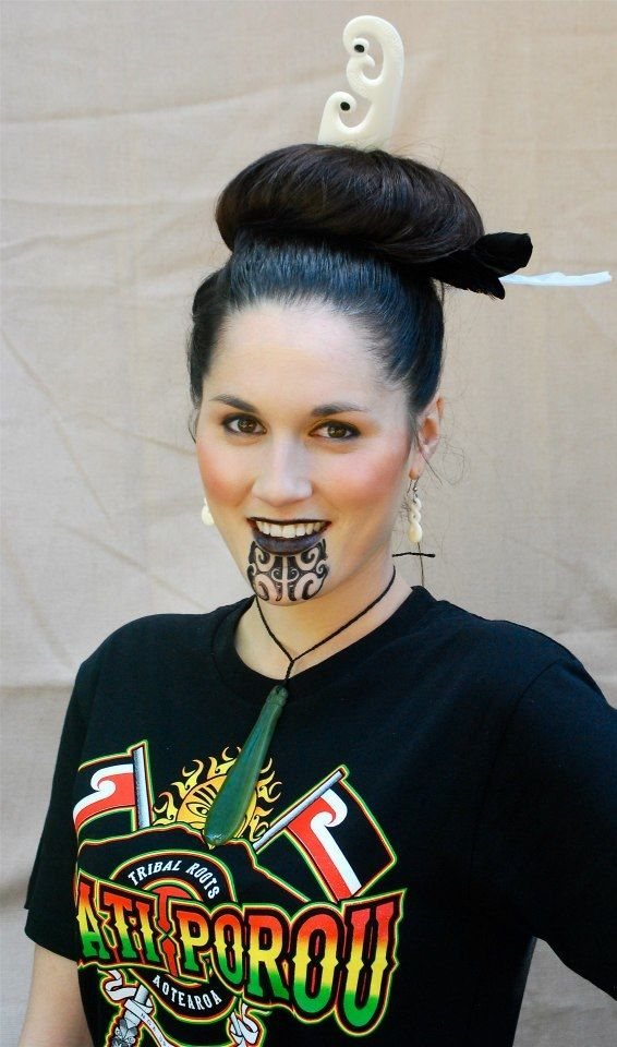 Our Miss Aotearoa donning her Tribal Roots - Ngati Porou Top