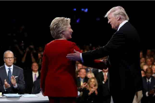 The much-awaited debate between the U.S. presidential candidates has not much altered the race. It is generally conceded that