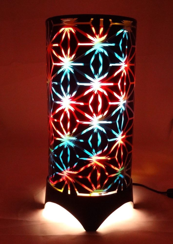 Marquee Revolving Light By Visual Effects Vintage Psychedelic Motion Lamp  Rare