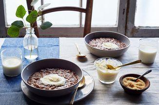 Champorado (Filipino Rice Porridge with Dark Chocolate) Recipe on Food52