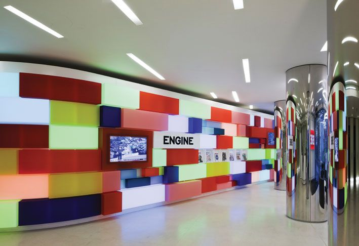 The Engine Group Corporate Office | Wall Candy | Office Wall Design