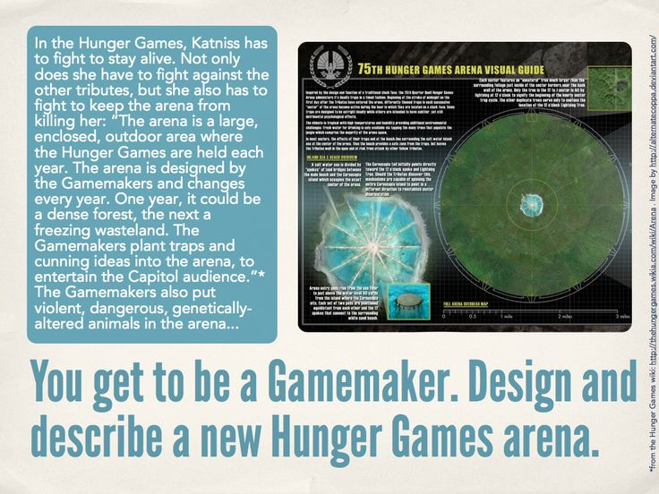hunger games creative writing The hunger games symbolism essay: creative writing stories about change posted on april 12, 2018 by related post of the hunger games.