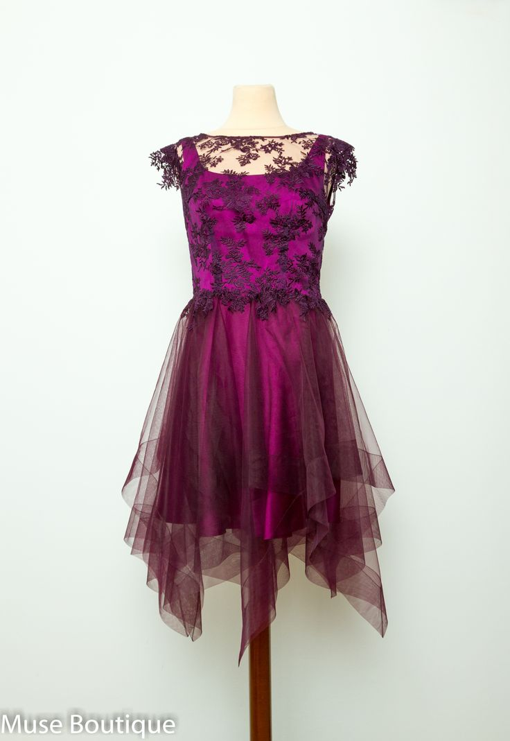 Purple Lace dress.  EXTRA 50% OFF SALE. From 1200 LEI gets to 600 LEI.