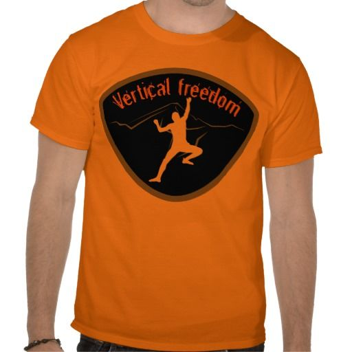 Vertical freedom t shirt