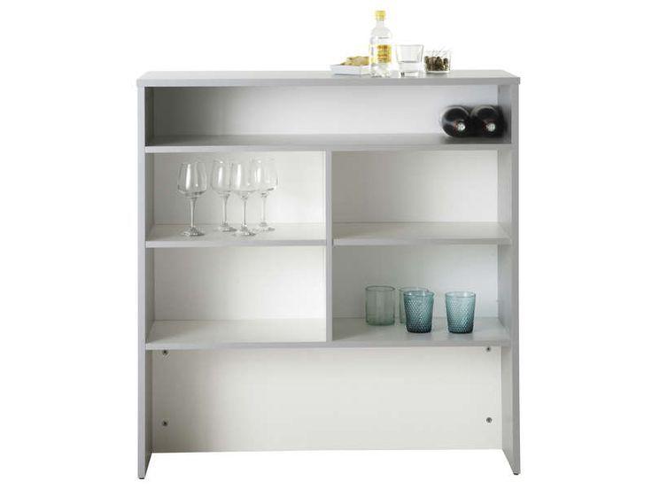 Element Bar Spoon Blanc Vente De Meuble Bas Conforama Meuble Bas Mobilier De Salon Vente Meuble