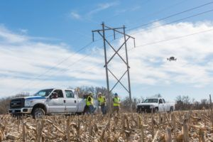 Kansas State Polytechnic Westar Energy advance electric utility inspection and maintenance with drones