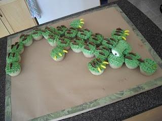 Crocodile cake!!