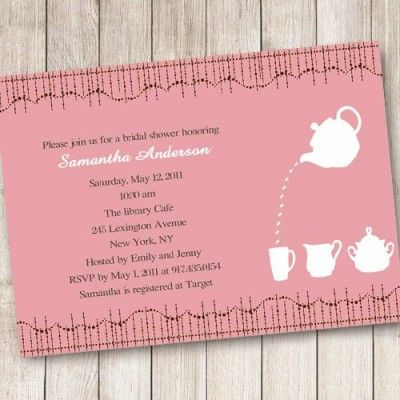 97 best bridal shower invitations images – Order Party Invitations Online