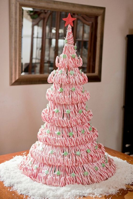 Candy+Cane+Christmas+Tree | candy cane christmas tree