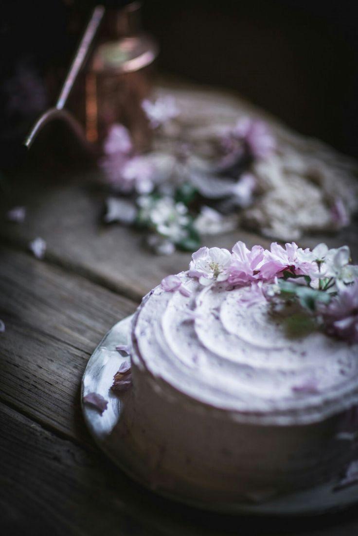 Herbal hibiscus tea 55g dr bean australia - Lemon Olive Oil Cake With Hibiscus Cream Cheese Buttercream