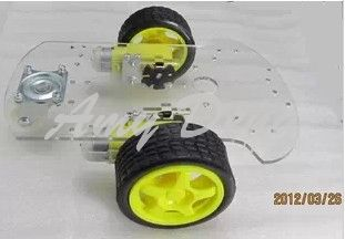 Two new smart car chassis / robot / Tracing car / kit / With the encoder / HC-1 /