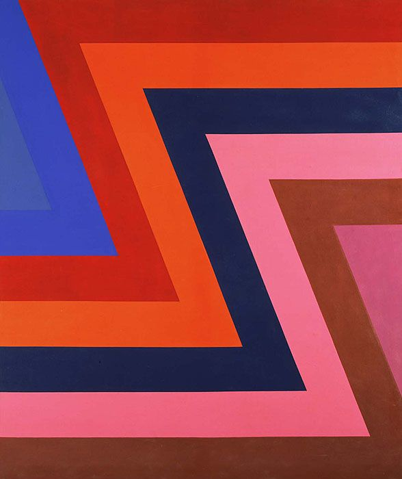 Howard Mehring / Interval / 1963 / acrylic on canvas