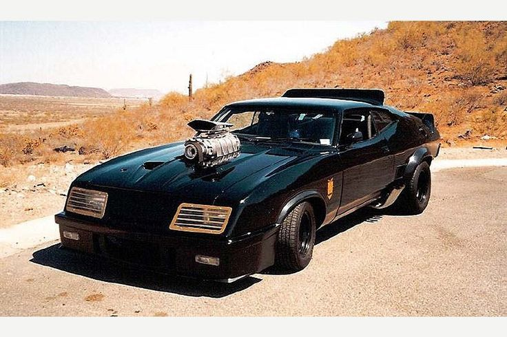 Mad Max Ford Falcon ... the last of the V8 Interceptors