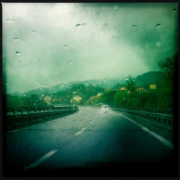 ...pioggia...