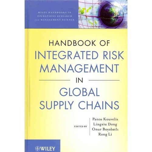 The handbook is divided into five parts: - Foundations and Overview introduces risk management and discusses the impact of supply chain disruptions on corporate performance - Integrated Risk Management: Operations and Finance Interface explores the joint use of operational and financial hedging of commodity price uncertainties - Supply Chain Finance discusses financing alternatives and the role of financial services in procurement contracts; inventory management and capital structure...