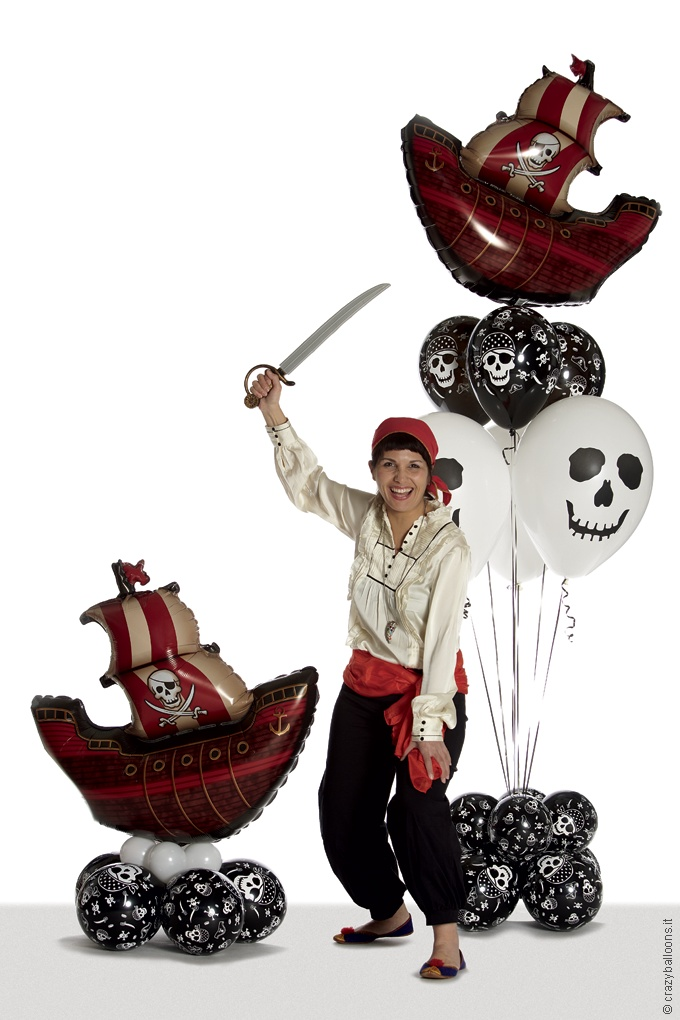 Balloon Art | Crazy Balloons #pirate party
