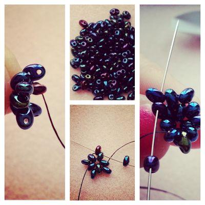 Miyuki: Twin beads! TUTO twin necklace beads ... Version tubular peyote :)